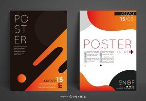3973Making A4 poster design