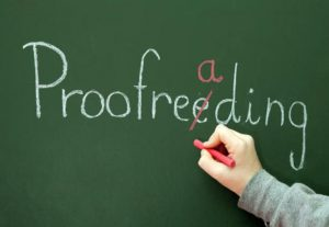 4443Proofreading + Editing your work